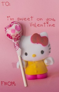 Hello Kitty pop Valentines